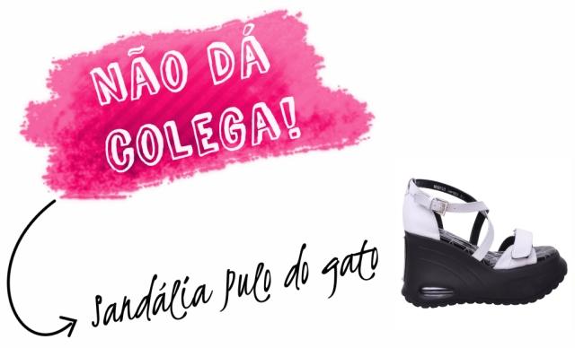Sandália Puto do Gato